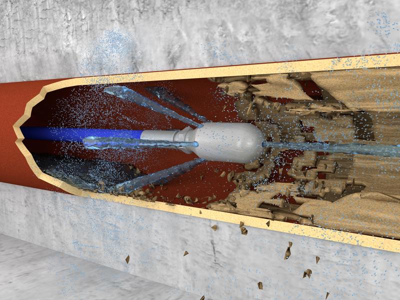 W Mega Udrażnianie kanalizacji - WUKO oraz sprężyną elektryczną DV27